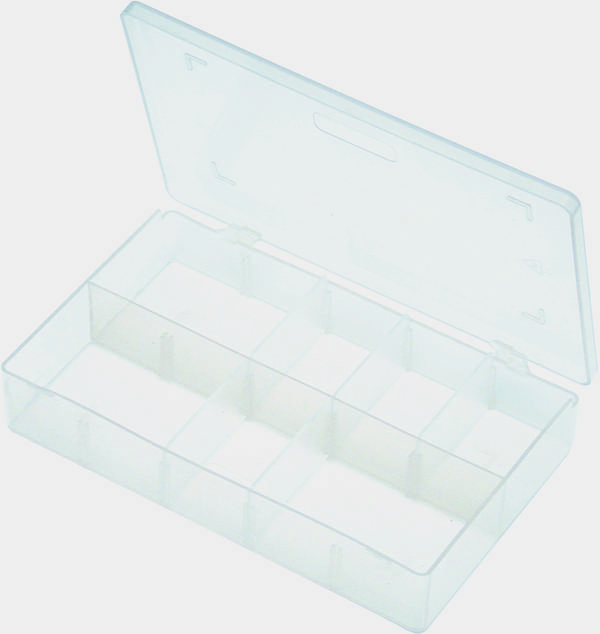 A01000 Assorted Boxes / Packs   Empty Boxes with 8 Dividers