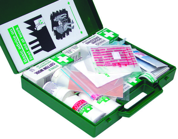 A02480 Assorted Boxes / Packs   FIRST AID Kit HSE for 10 Staff