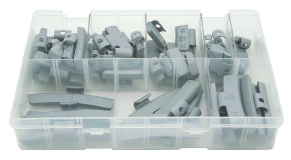 A02901 Assorted Boxes / Packs   Wheel Weights - Steel Wheel