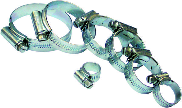 A05950 Assorted Boxes / Packs   JCS Stainless Steel Hose Clips
