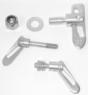 BF/AL12 Door Handles and Body Fittings Bolt on AntiLuce Fittings  Bolt on Antiluce 12 mm Thread x 25 mm