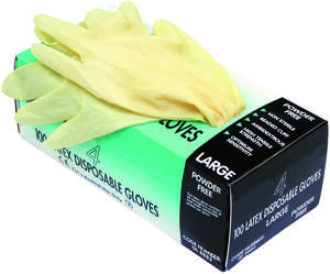 C23317 Workshop Personal Protective Equipment  Powder FREE Latex - Large