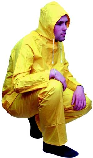 C25202 Workshop Personal Protective Equipment  Waterproof Two-Piece Suit - XL