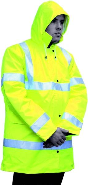 C25230 Workshop Personal Protective Equipment  Reflective Yellow Jacket - XL