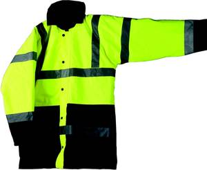C25240 Workshop Personal Protective Equipment  Two Tone Reflective Jacket - M class 3