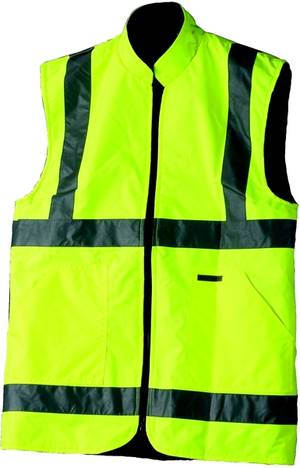 C25270 Workshop Personal Protective Equipment  Reversible Fleece Vest - M class 2
