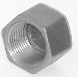 MC/1.25/10 Malleable Iron Fittings Caps  Cap 1 1/4