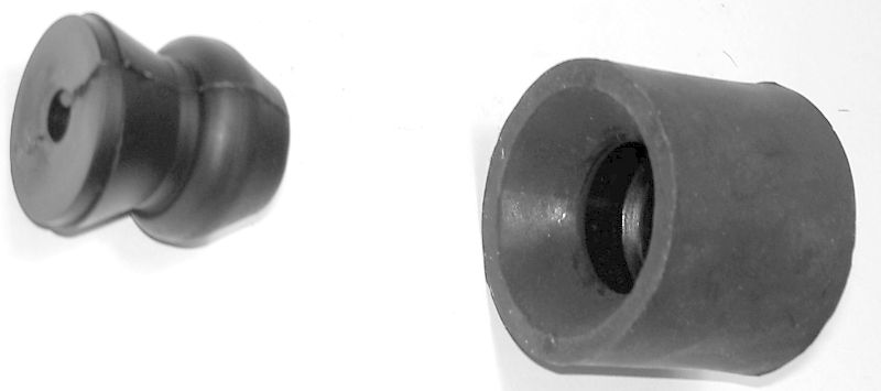 Door Holder (Rubber). Pair, Male and Female