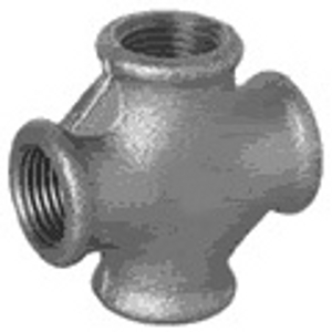MC/1.5/8 Malleable Iron Fittings Equal Crosses 90Deg  Equal Cross 90Deg 1 1/2