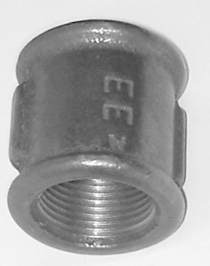 WP/FS4 Malleable Iron Fittings Female Equal Sockets  Female Equal Socket 4