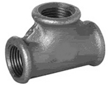 MC/2/7 Malleable Iron Fittings Female Equal Tees 90Deg  Female Equal Tee 90Deg 2