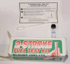 2S/FTK Carburetters, Fuel Test Kit and Leak Detector  All Repair Centres. Only Needs Sample from Carburettor Fuel Test Kit