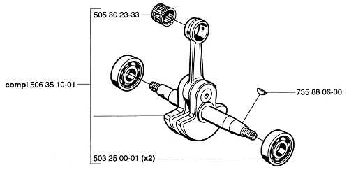 503 25 00-01 K650 K700 Crankshaft  Ball Bearing