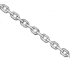 LB/LC Ratchet Straps and Binders, Chain and Hooks   Loading Chain (In 30' Lengths) 3/8