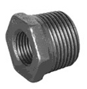 MC/12/13 Malleable Iron Fittings Male - Female Reducing Bushes  Male - Female Reducing Bush (M) 1 1/2