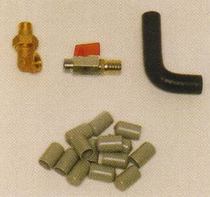 M/BE38 Miscellaneous Roller Water Fittings  3/8