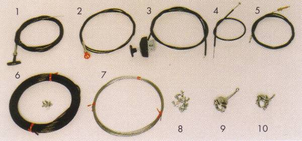 M/WC 26 Miscellaneous Throttle Cables and Levers  26