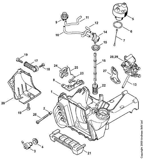 search results for  u201cstihl chainsaw parts diagram 028 av