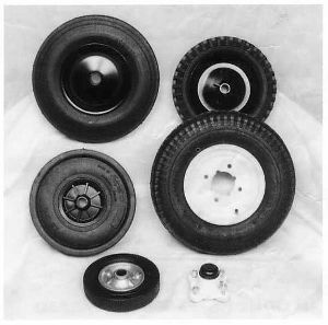 TS/TW8 Trailer Spares Wheels and Hubs  8